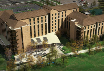 Construction Underway on New Williams Village East Residence Hall