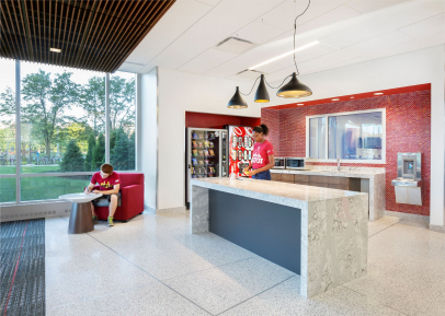 Healthy Residence Halls Promote Student Physical Activity, Utilize Sustainable Construction Materials