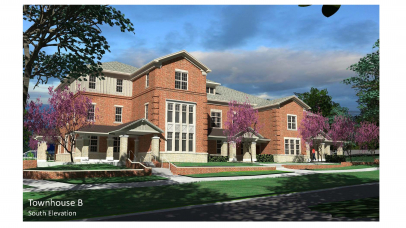 KWK Architects Designing Apartment Building,Townhouses for North Carolina State University's New Greek Village